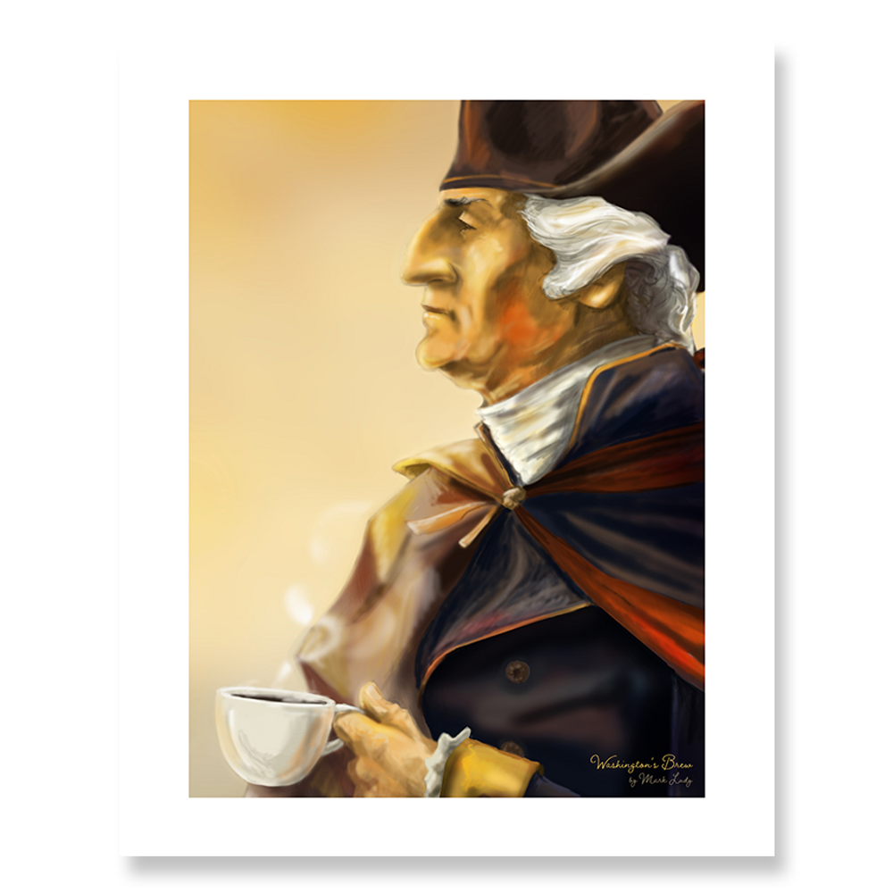 Washington's Brew / Sm Print