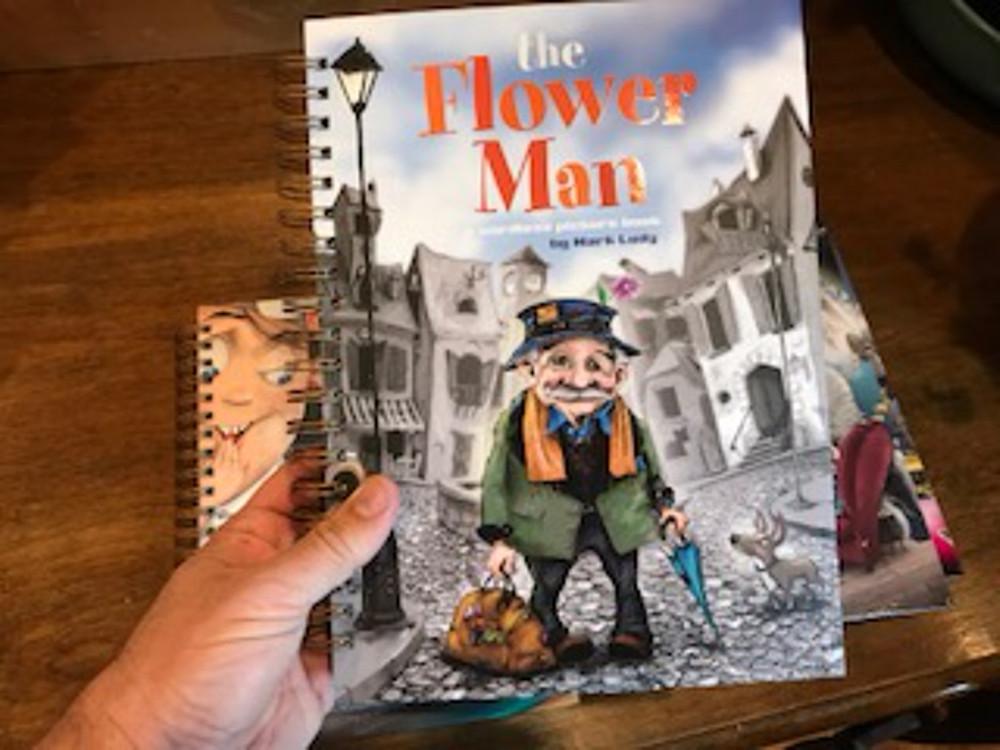 The Flower Man SKETCHBOOK