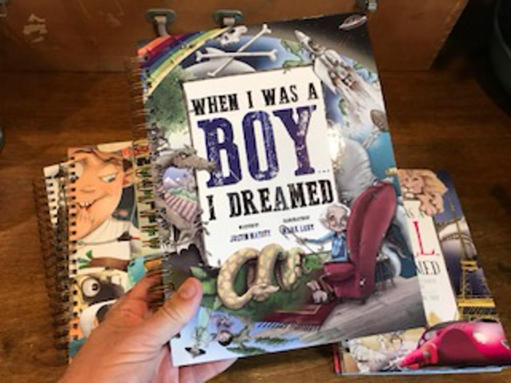 When I Was A Boy... I Dreamed SKETCHBOOK