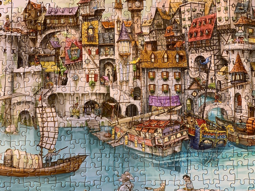 One Harbor Morn 1,000 Piece Puzzle