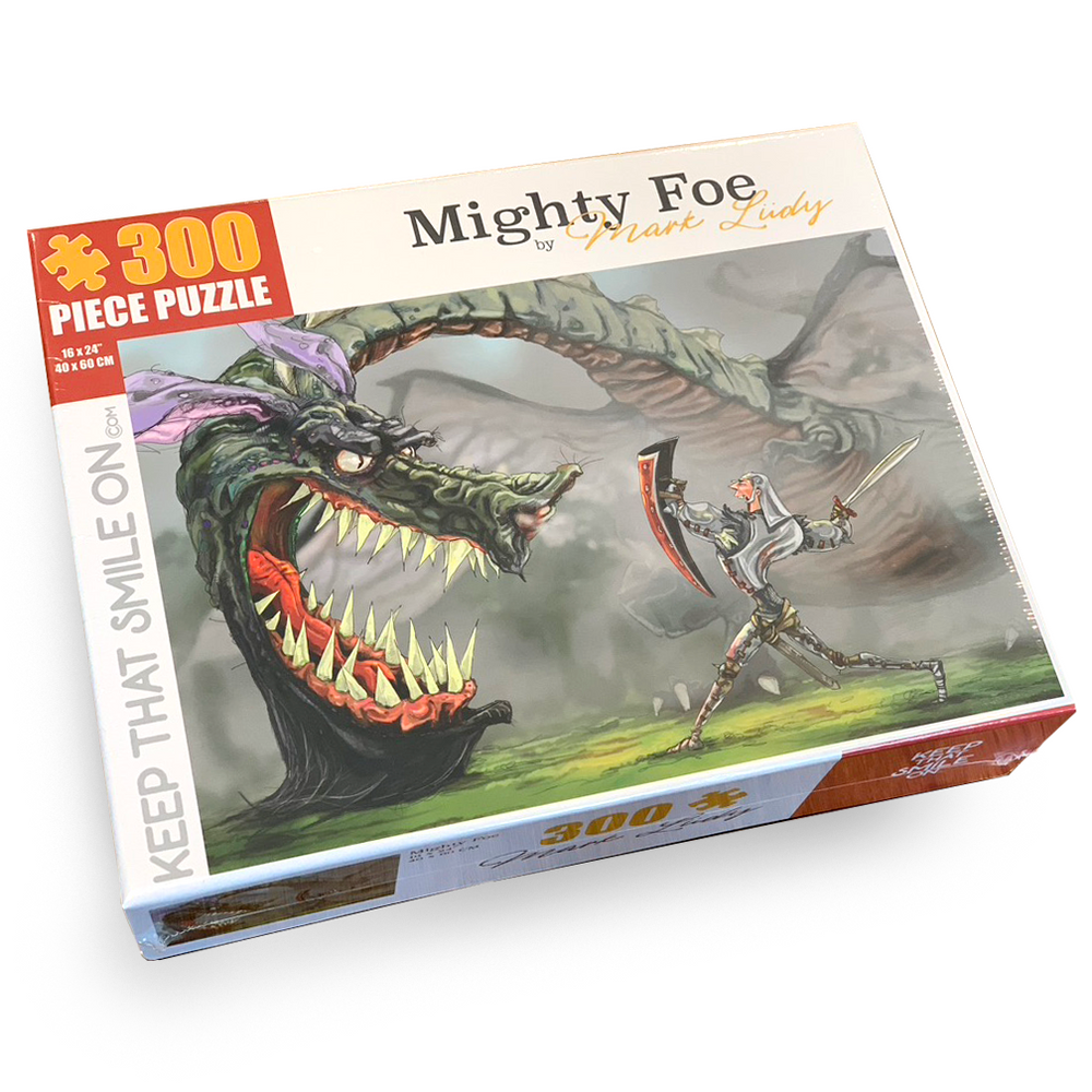Mighty Foe 300 Piece Puzzle
