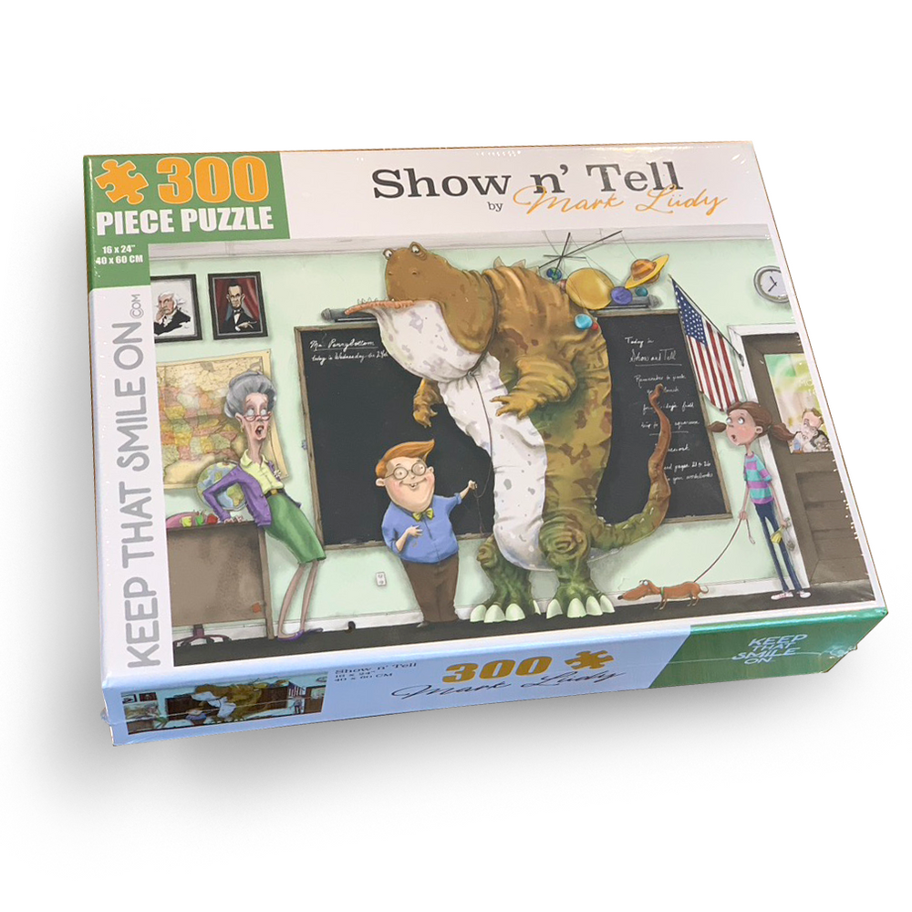Show n' Tell 300 Piece Puzzle