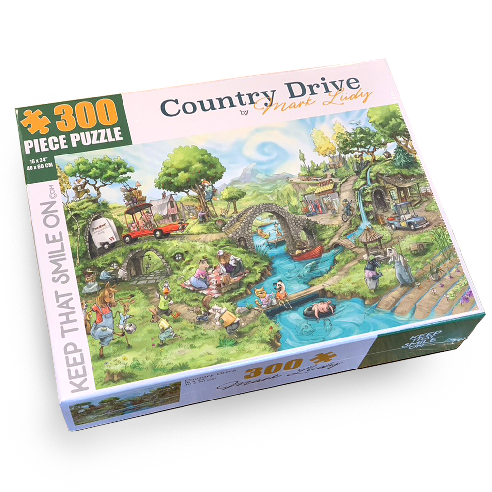 Country Drive 300 Piece Puzzle