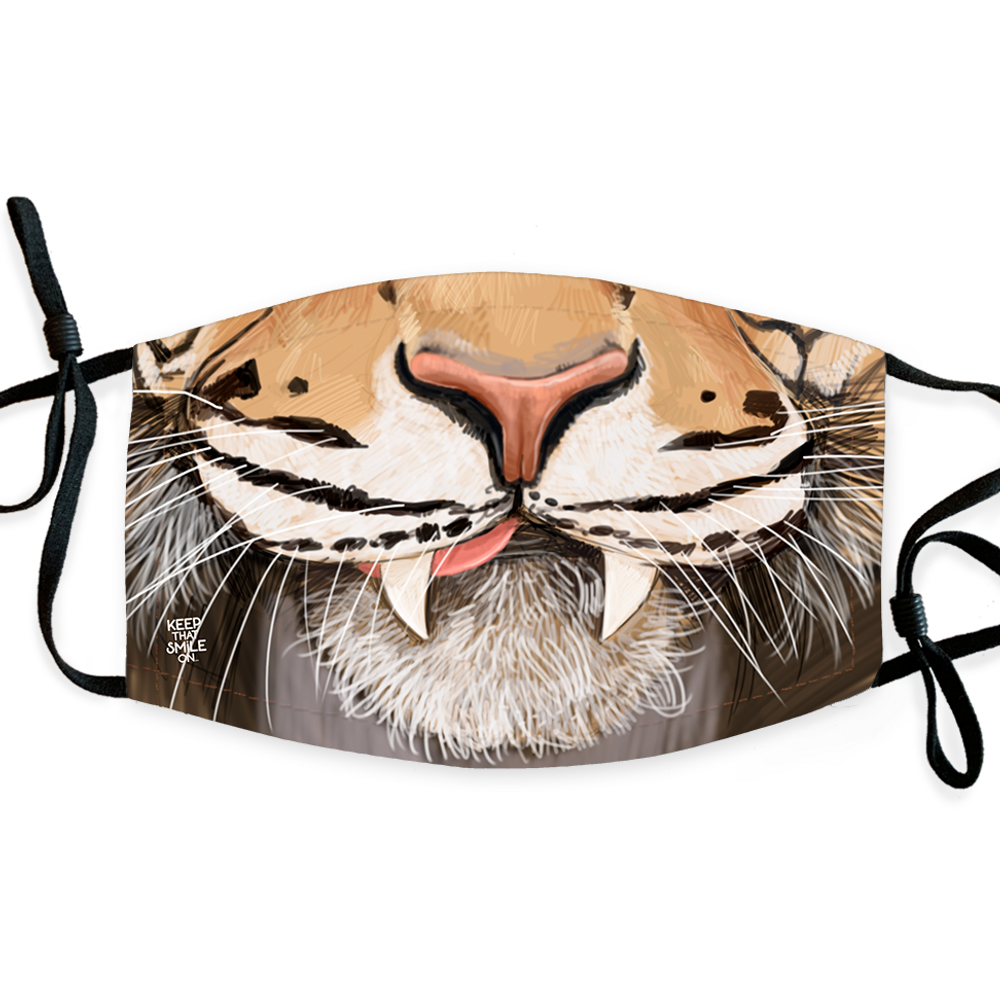 Tiger / Face Mask