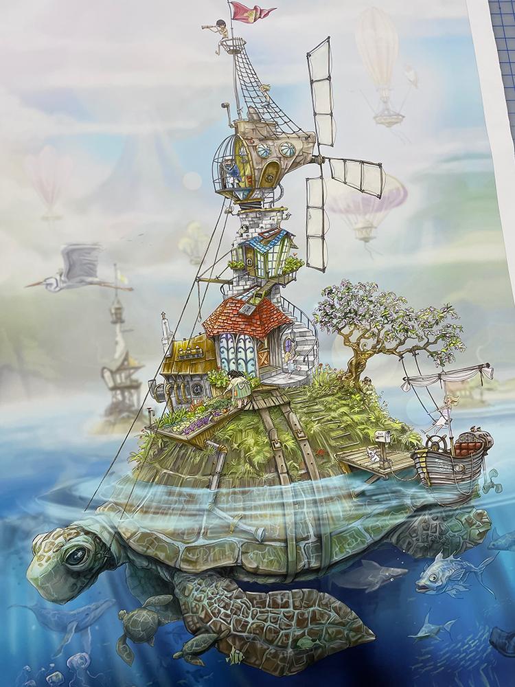 Turtle Island / LE of 9