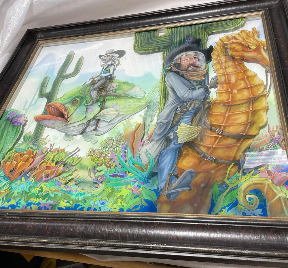 The Saltwater Bandit of Gilly Gulch / Original 1 of 1