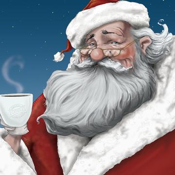 Sippin' Santa / Artwork