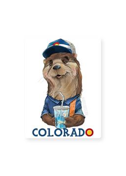"""Colorado Otter / Sticker 3x5"""""""