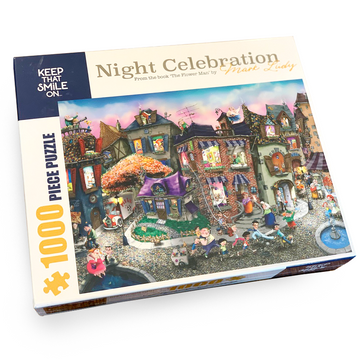 Night Celebration 1,000 Piece Puzzle