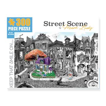 Street Scene 300 Piece Puzzle