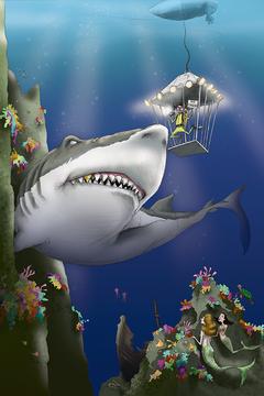 Shark Bait / Artwork by Mark Ludy