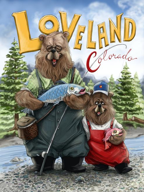 Loveland Colorado 'Fishing'