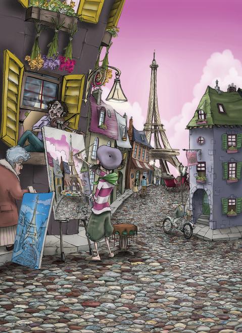 Painting In Paris