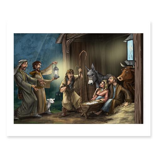 Birth Of Jesus / Sm Print