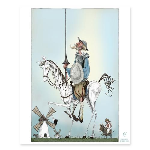 Quixote / Sm Print