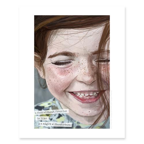 Freckles / Sm Print