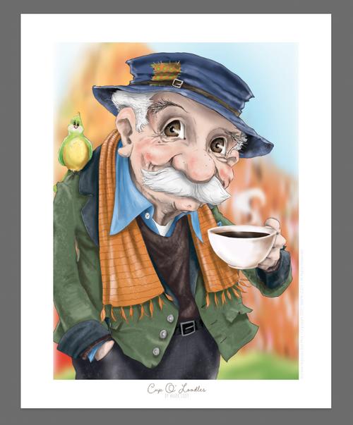 Cup O' Loodles / Sm Print