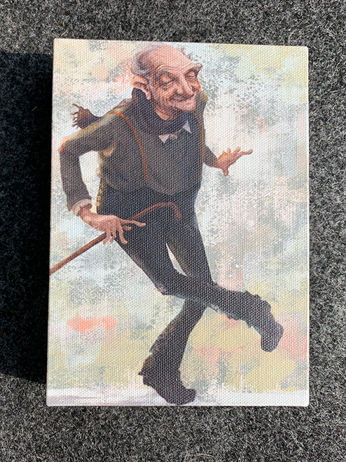 Fred Ain't Astaire / 5x7 Canvas