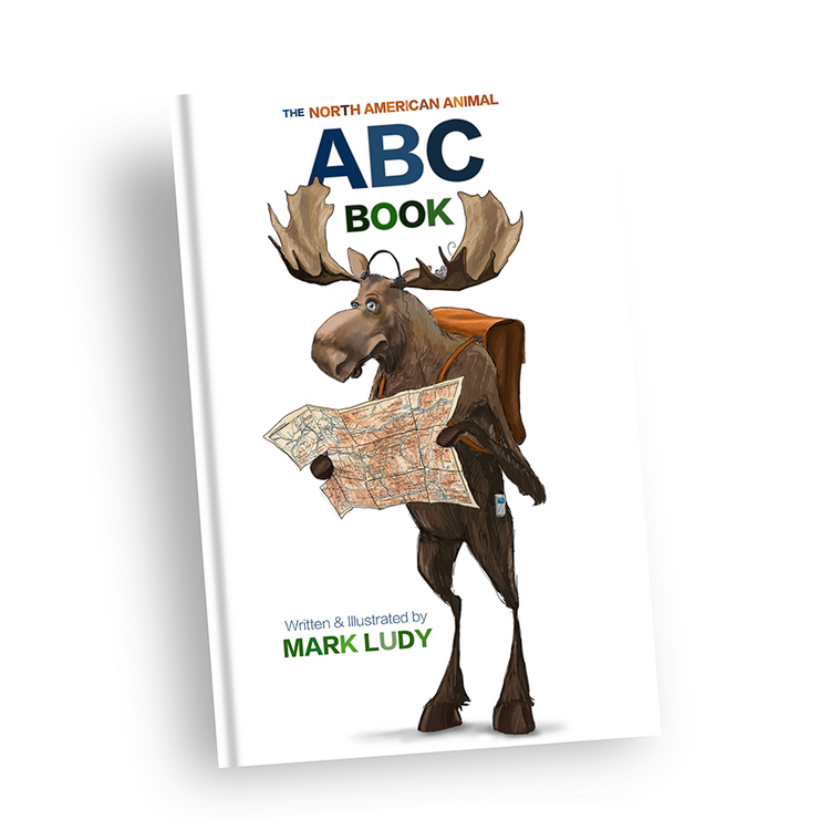 North American Animal ABC Book / Animals, ABC'S & Alliteration