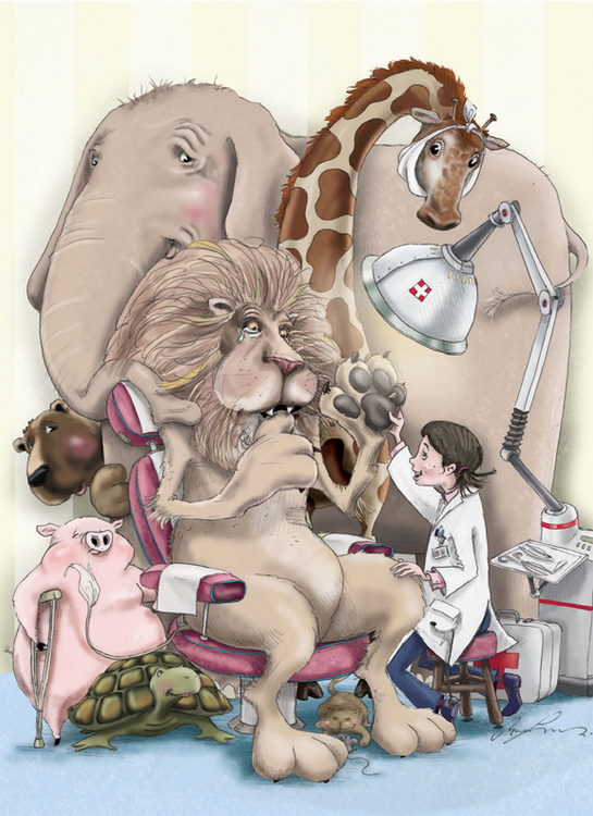 Animal Doctor / Artwork