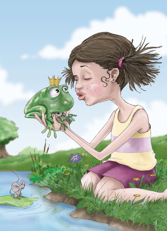 Kiss the Frog / Artwork