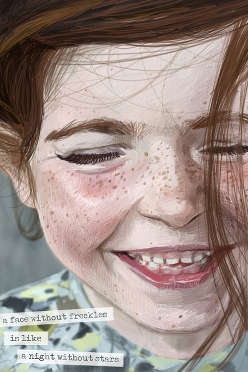 Freckles / Artwork by Mark Ludy