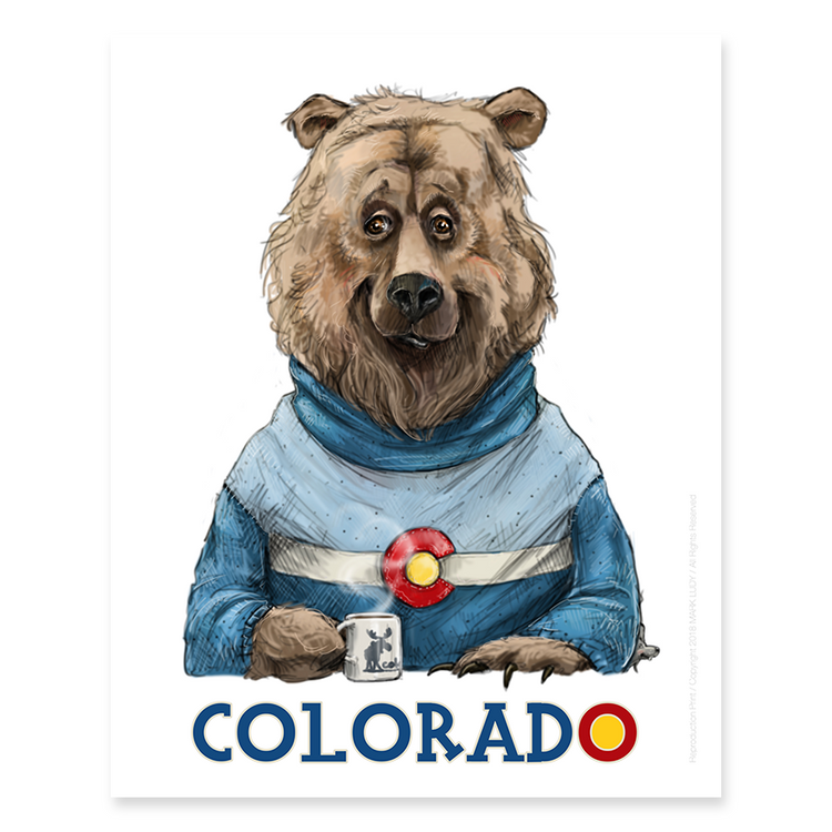 Colorado Bear / Sm Print