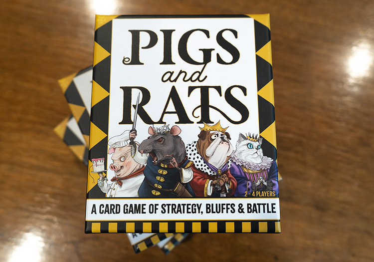 PIGS and RATS / the card game