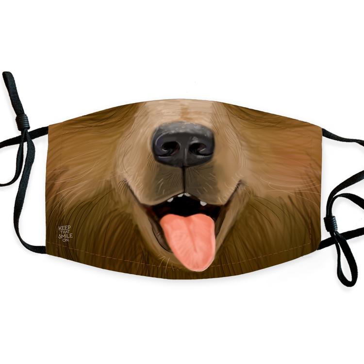Little Brown Bear / Face Mask