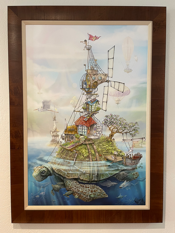 Turtle Island / Limited Edition of 9 & Print