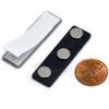 Name Tag Badge Magnet  Set of 100 /w Adhesive 3MG