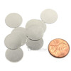 Round Disc Steel Strikers  -  15mm x 1mm 10 Pcs