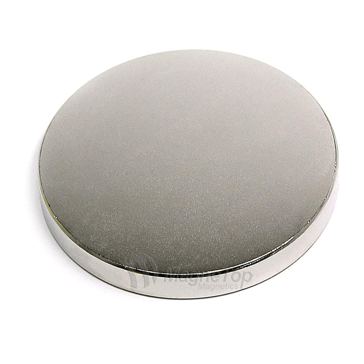 Neodymium Disk  -  50.8mm x 6.3mm - N42