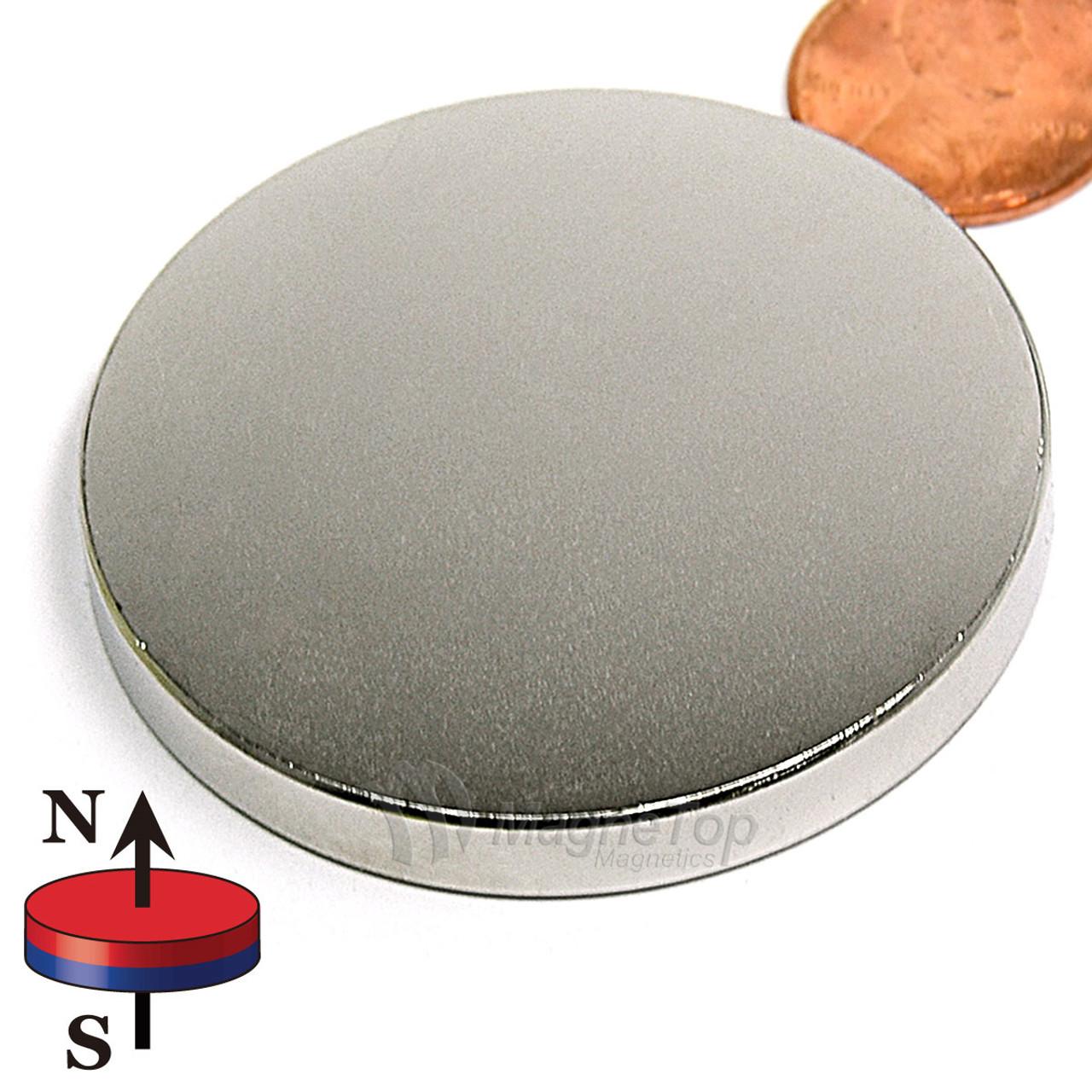 Neodymium Disk - 50.8mm x 6.3mm