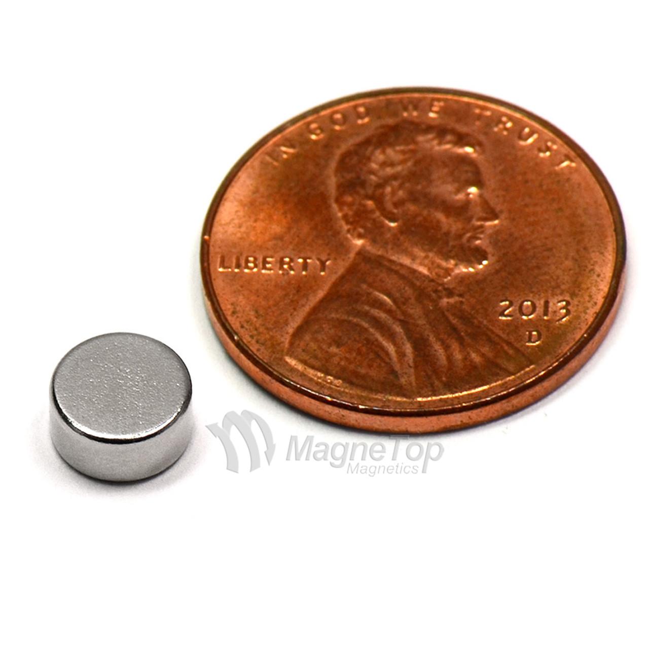 Neodymium Disk  -  6mm x 3mm - N45