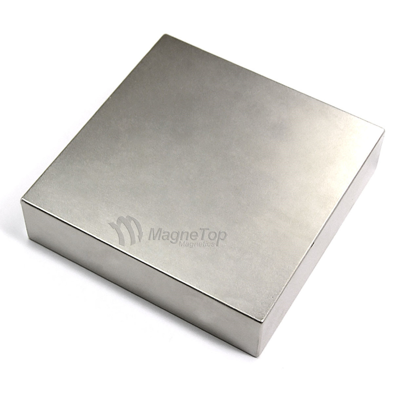 Neodymium Block - 100mm x 100mm x 25mm - N42