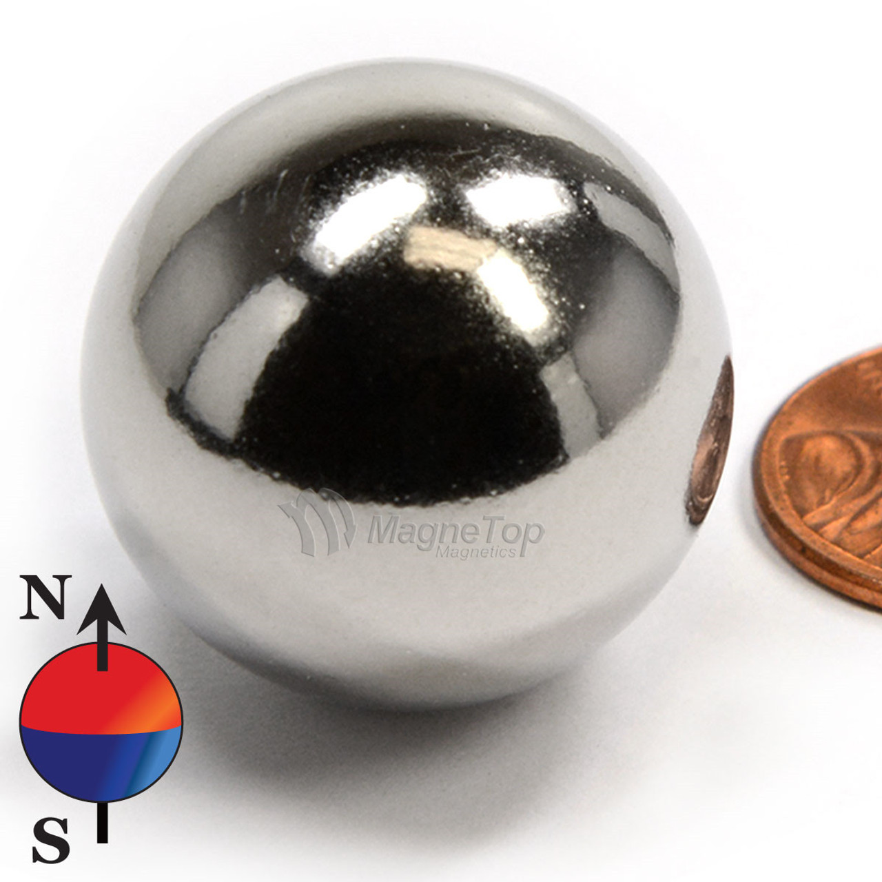 Neodymium Sphere - 25.4mm - N42
