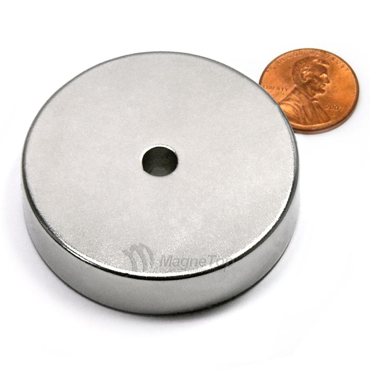 50.8mm (OD) x 6.35mm(ID) x 12.7mm - N42-Neodymium Ring