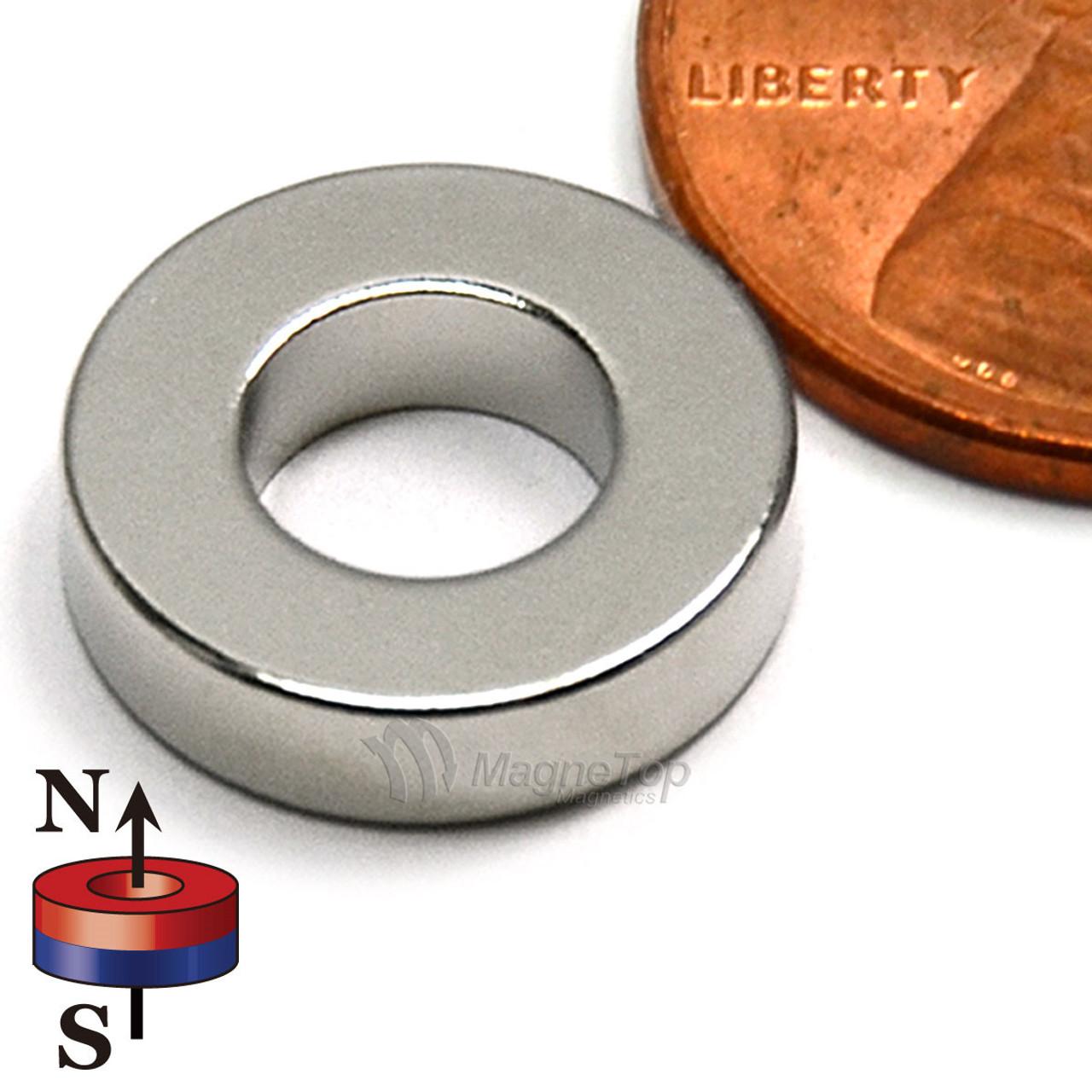 12mm (OD) x 6mm(ID) x 3mm - N52-Neodymium Ring