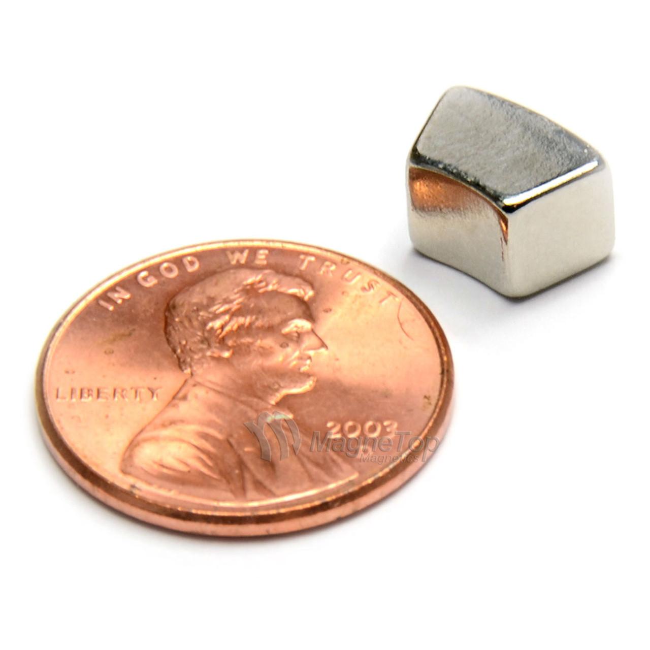 32mm (OD) x 20mm(ID) x 6mm 36 Degree -N45-N Pole Neodymium Arc