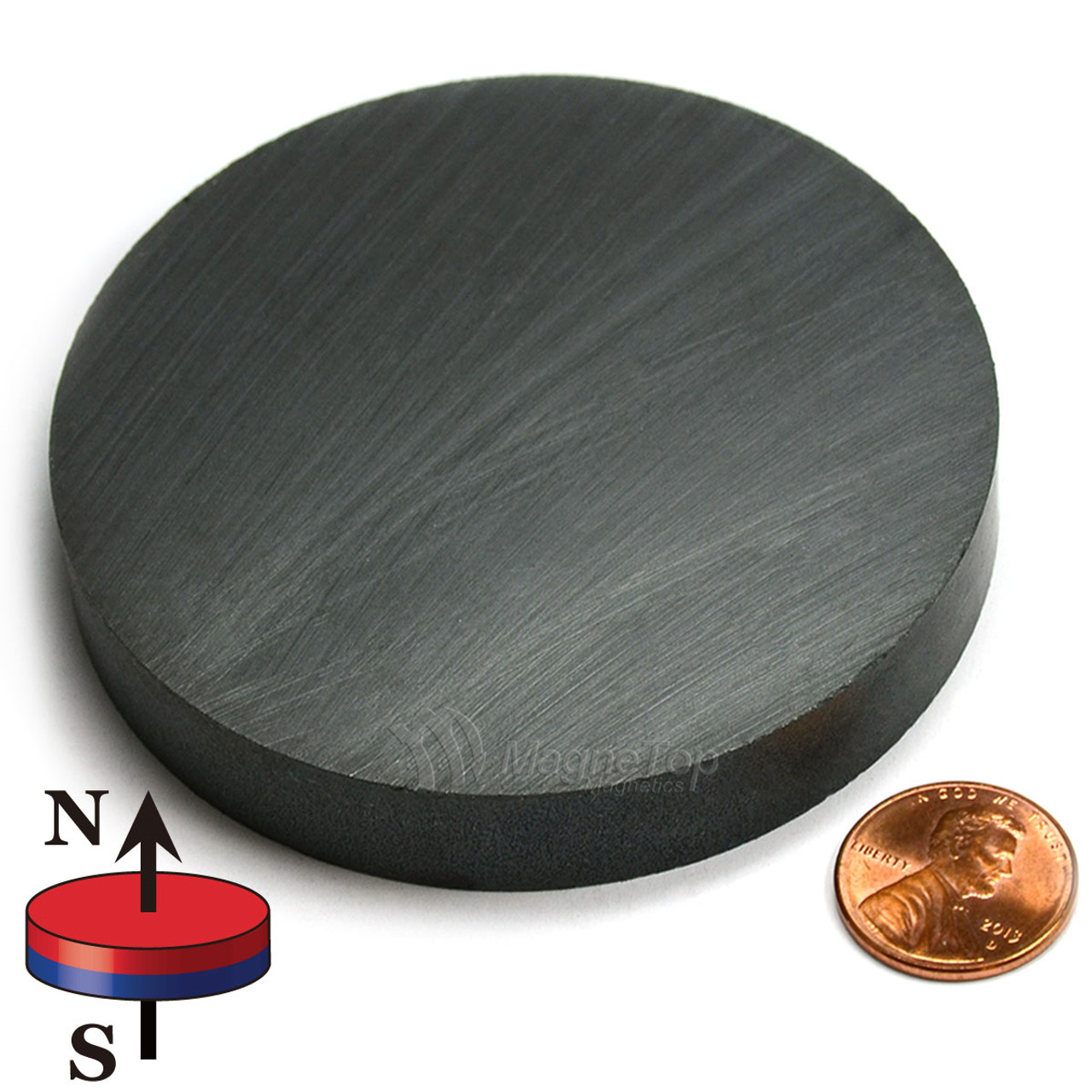 Ferrite Disc - 75mm x 12mm - Y30BH