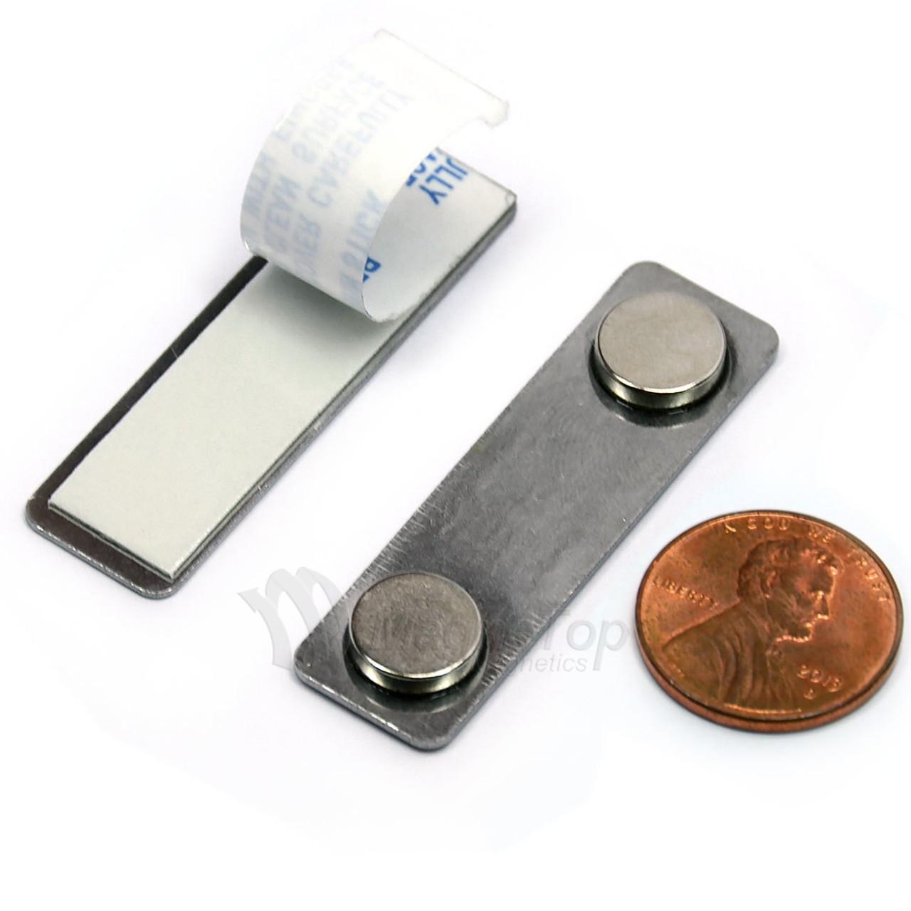 Name Tag Badge Magnet  Set of 1 /w Adhesive 2MG1