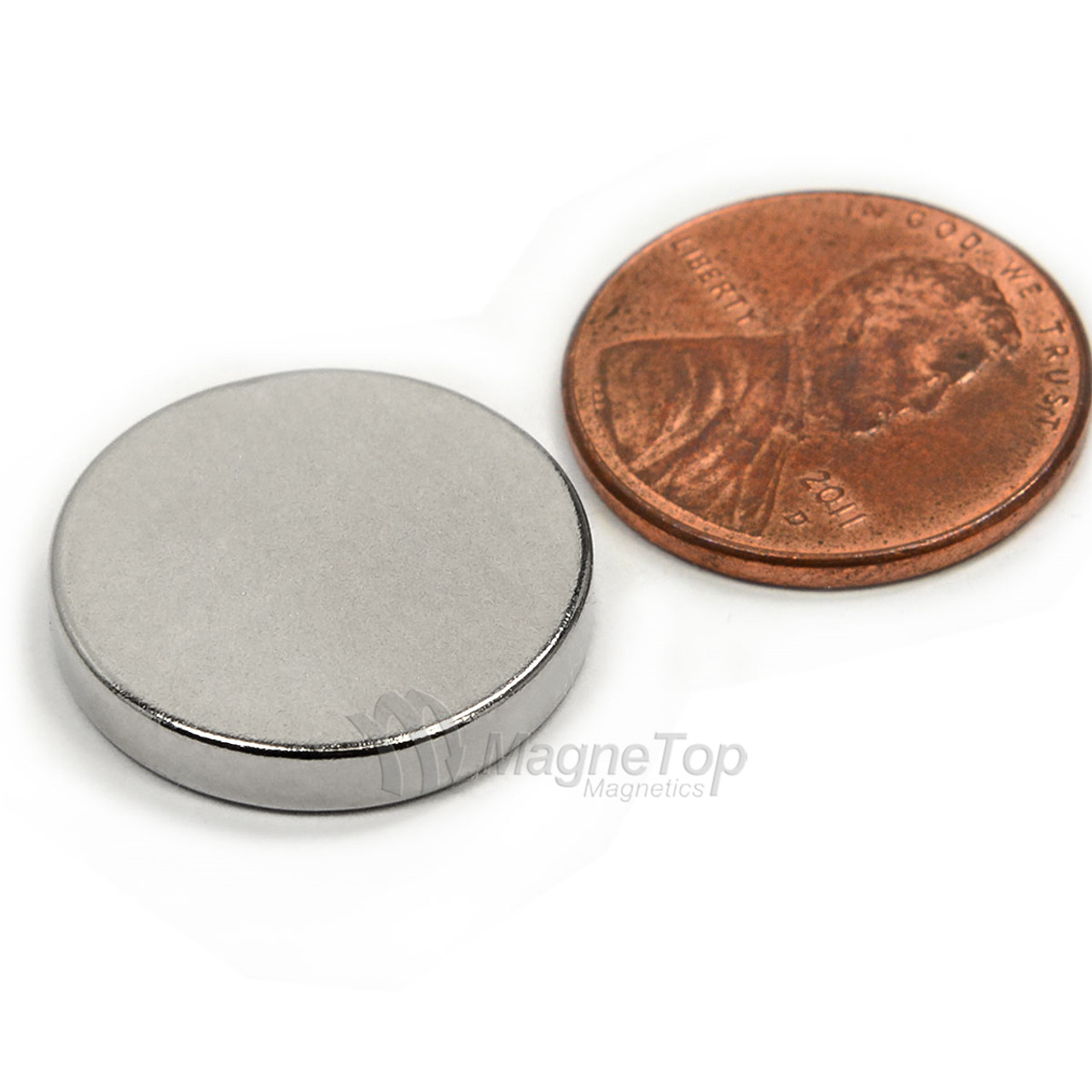 Neodymium Disk  -  20mm x 3mm - N42