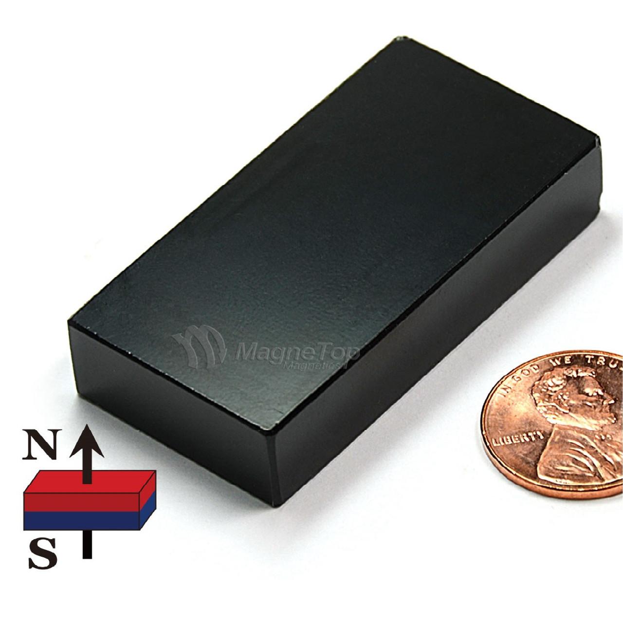 Neodymium Block  -  50mm x 25mm x 10mm - N38E
