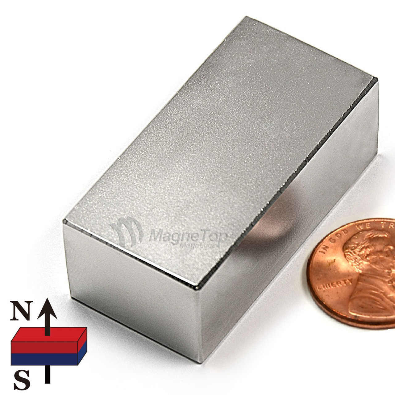 Neodymium Block - 40mm x 20mm x 15mm