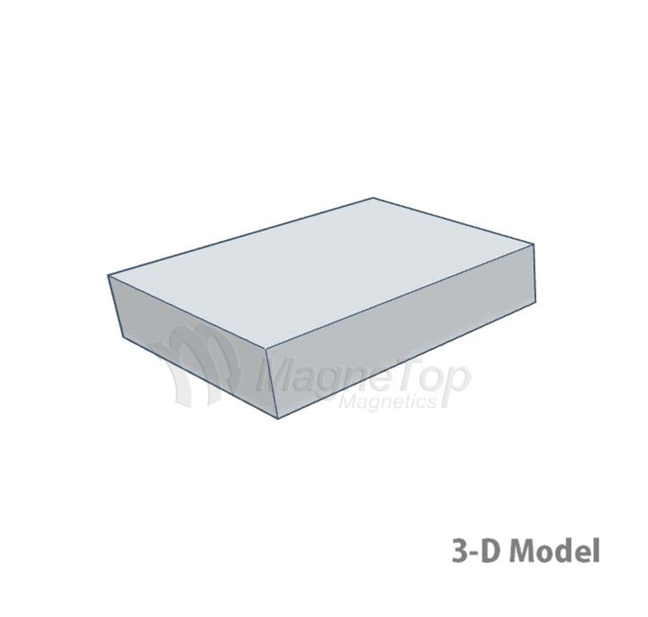 Neodymium Block  -  10mm x 8mm x 2mm - N40