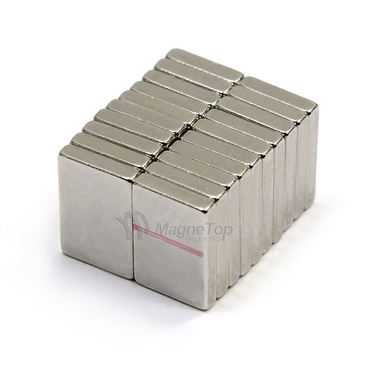 Neodymium Block  -  10mm x 5mm x 1.5mm - N45