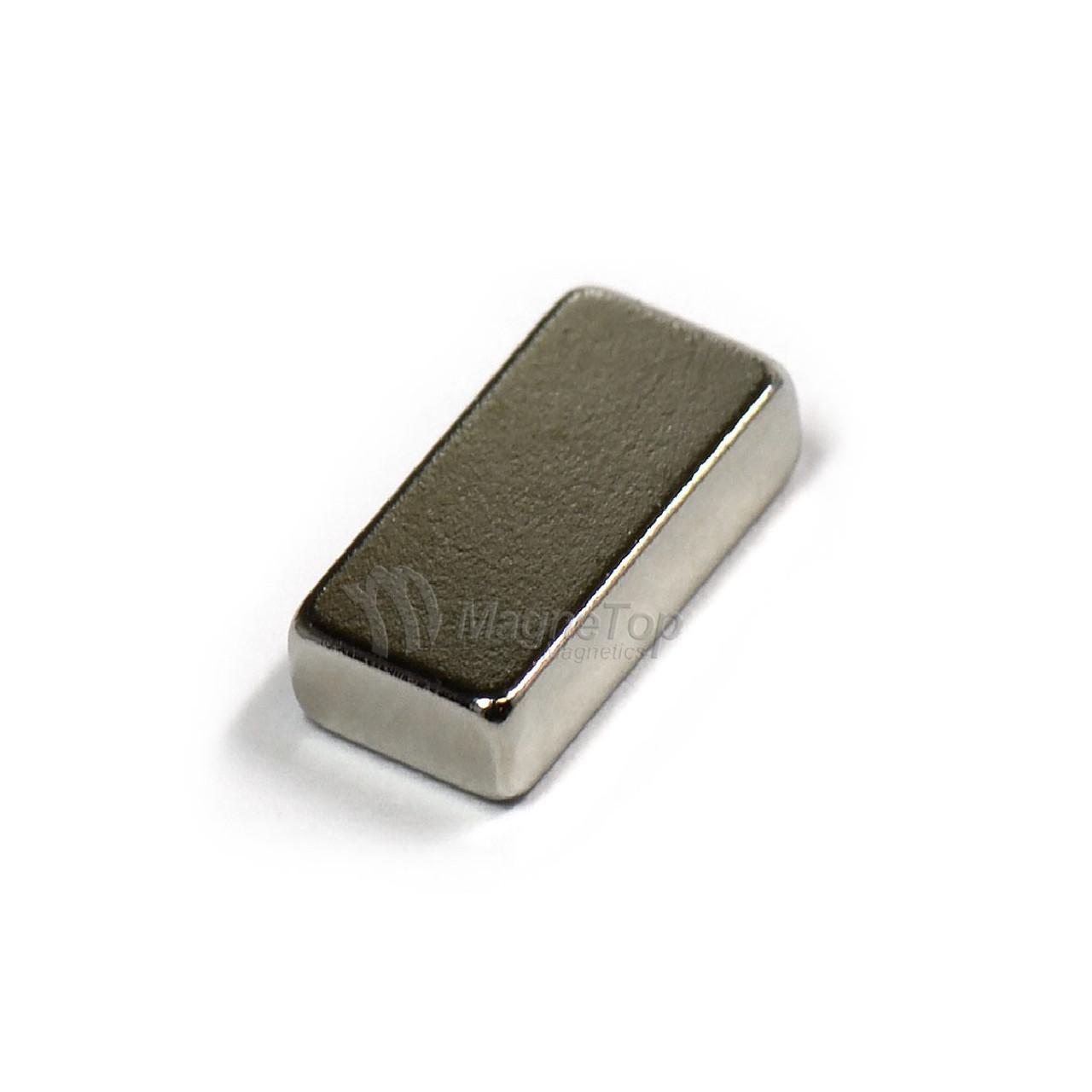 Neodymium Block  -  8mm x 4mm x 2.5mm - N48
