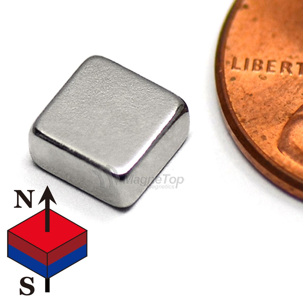 Neodymium Block - 6mm x 6mm x 3mm