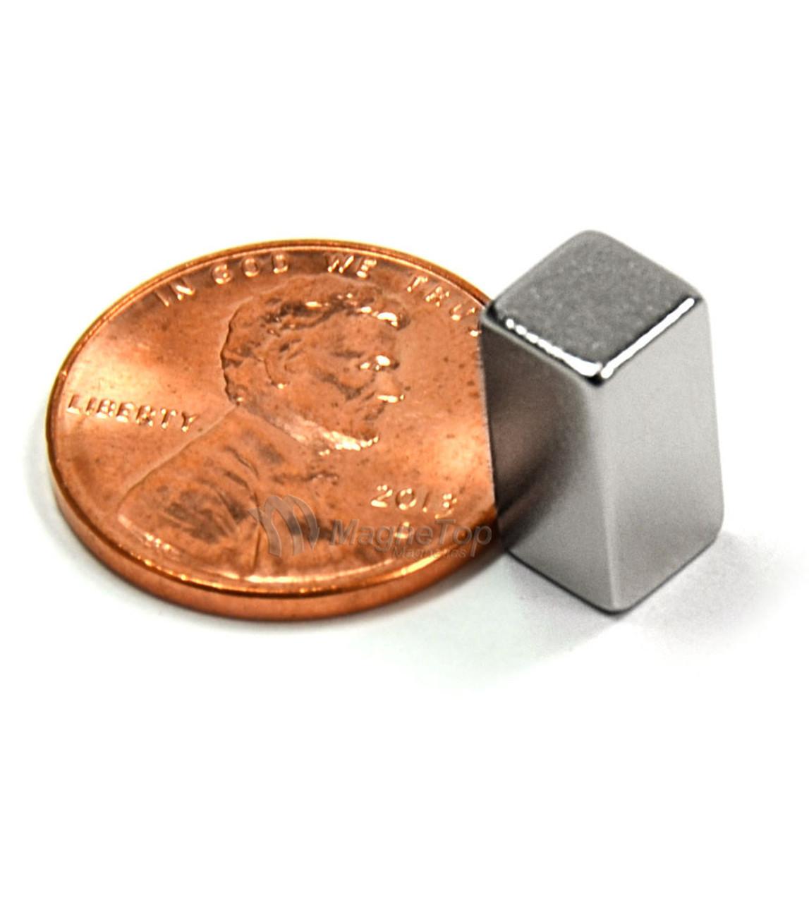 Neodymium Block  -  5mm x 5mm x 10mm - N45